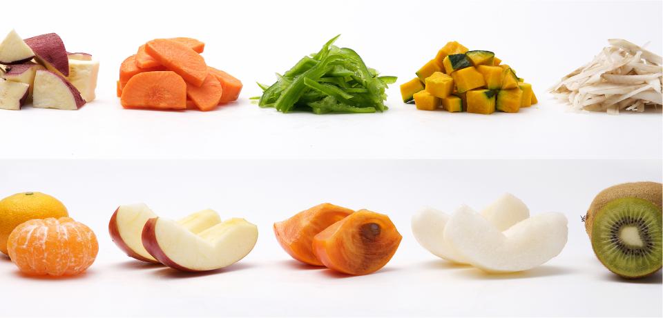 カット野菜のサンプル写真