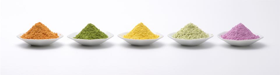 粉末野菜のサンプル写真
